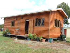 Our comfy cabin for your special stay