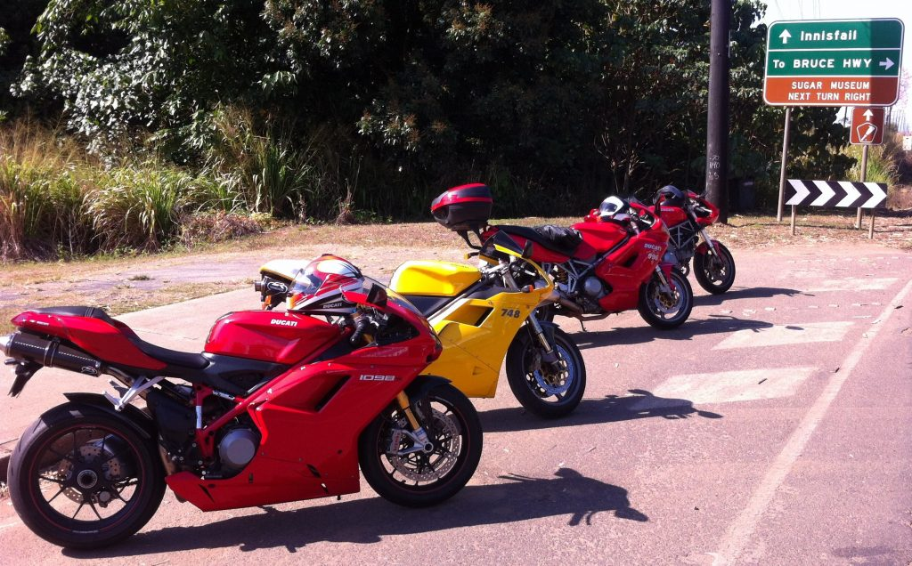 Sunday Ducati Tour