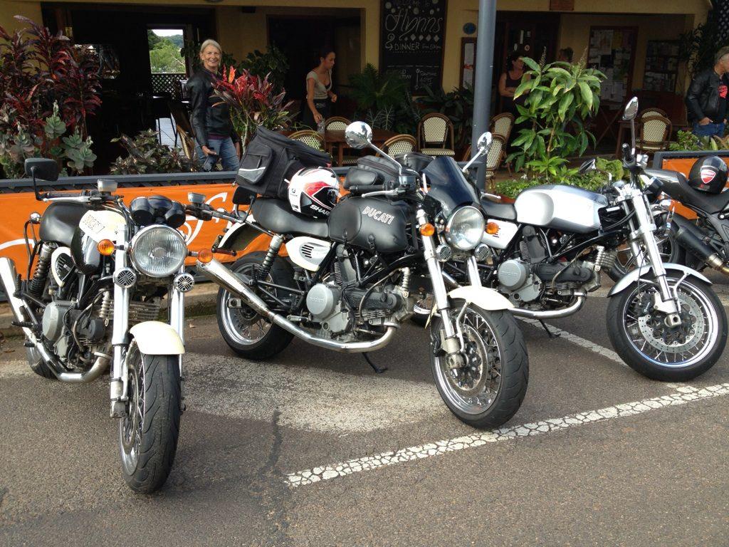 Ducatis at Flynns
